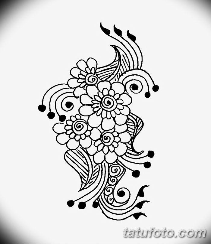 Фото простые рисунки мехенди от 03.08.2018 №209 - simple mehendi drawing - tatufoto.com