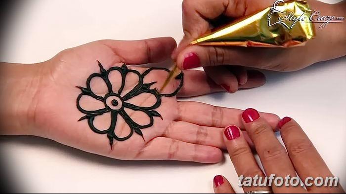 Фото простые рисунки мехенди от 03.08.2018 №268 - simple mehendi drawing - tatufoto.com