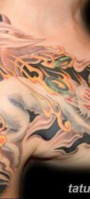 Фото рисунок тату Кицунэ от 10.08.2018 №007 – drawing of tattoo Kitsune – tatufoto.com
