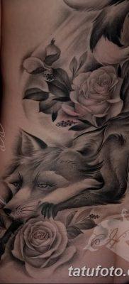 Фото рисунок тату Кицунэ от 10.08.2018 №021 – drawing of tattoo Kitsune – tatufoto.com