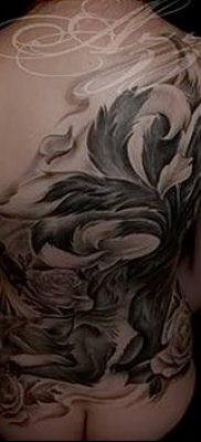 Фото рисунок тату Кицунэ от 10.08.2018 №022 – drawing of tattoo Kitsune – tatufoto.com