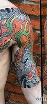 Фото рисунок тату Кицунэ от 10.08.2018 №025 – drawing of tattoo Kitsune – tatufoto.com