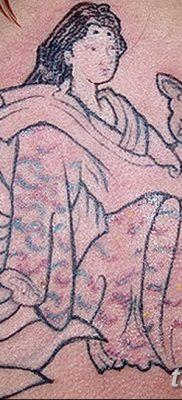 Фото рисунок тату Кицунэ от 10.08.2018 №026 – drawing of tattoo Kitsune – tatufoto.com