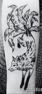 Фото рисунок тату Кицунэ от 10.08.2018 №034 – drawing of tattoo Kitsune – tatufoto.com