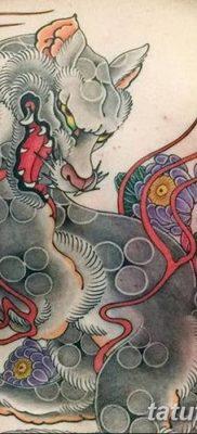 Фото рисунок тату Кицунэ от 10.08.2018 №038 – drawing of tattoo Kitsune – tatufoto.com