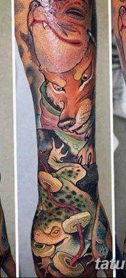 Фото рисунок тату Кицунэ от 10.08.2018 №040 – drawing of tattoo Kitsune – tatufoto.com