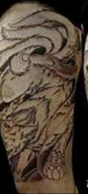 Фото рисунок тату Кицунэ от 10.08.2018 №122 – drawing of tattoo Kitsune – tatufoto.com