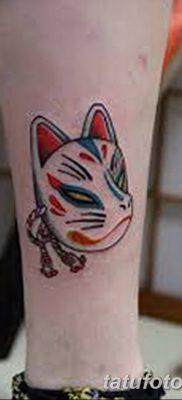 Фото рисунок тату Кицунэ от 10.08.2018 №126 – drawing of tattoo Kitsune – tatufoto.com