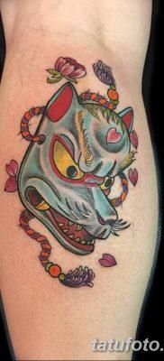 Фото рисунок тату Кицунэ от 10.08.2018 №136 – drawing of tattoo Kitsune – tatufoto.com