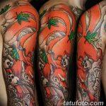 Фото рисунок тату Кицунэ от 10.08.2018 №137 - drawing of tattoo Kitsune - tatufoto.com