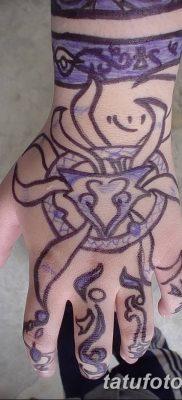 Фото рисунок тату Кицунэ от 10.08.2018 №155 – drawing of tattoo Kitsune – tatufoto.com