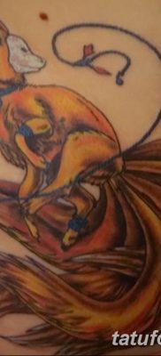 Фото рисунок тату Кицунэ от 10.08.2018 №160 – drawing of tattoo Kitsune – tatufoto.com