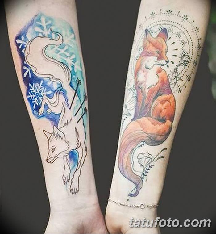 Фото рисунок тату Кицунэ от 10.08.2018 №166 - drawing of tattoo Kitsune - tatufoto.com