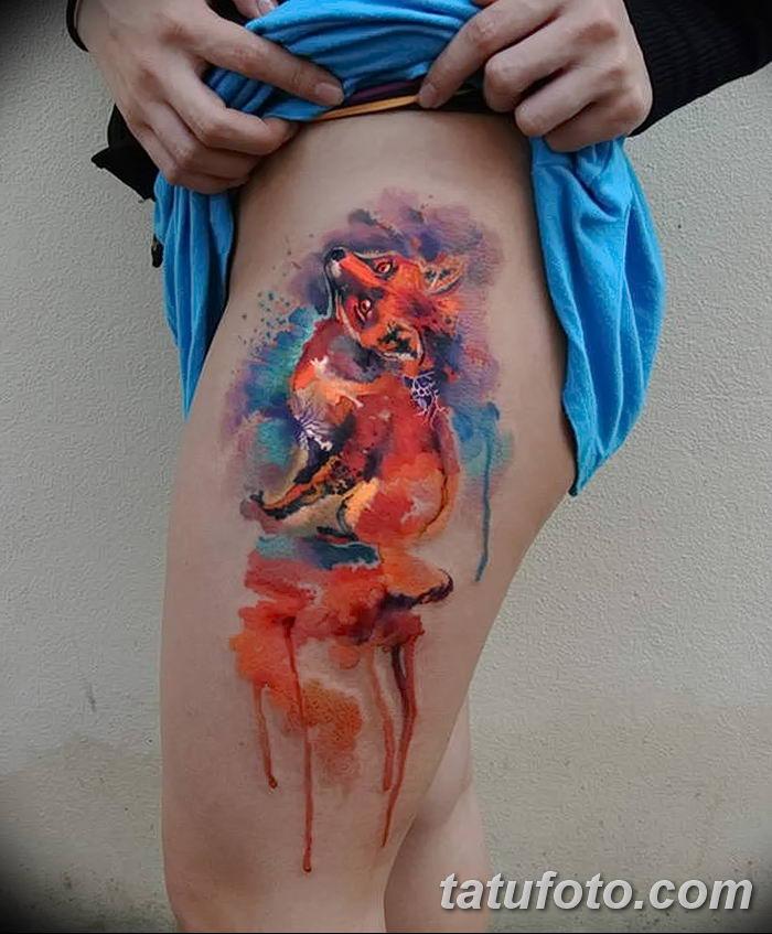 Фото рисунок тату Кицунэ от 10.08.2018 №210 - drawing of tattoo Kitsune - tatufoto.com