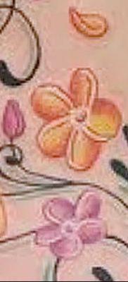 Фото рисунок тату цветок колокольчик от 10.08.2018 №013 – flower bell tatto – tatufoto.com