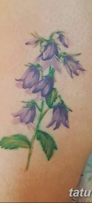 blue bell flower tattoo design New watercolour bluebells tattoo