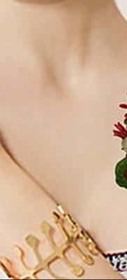 Фото рисунок тату цветок колокольчик от 10.08.2018 №035 – flower bell tatto – tatufoto.com