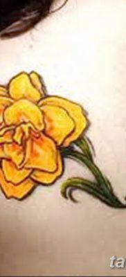 Фото рисунок тату цветок колокольчик от 10.08.2018 №037 – flower bell tatto – tatufoto.com