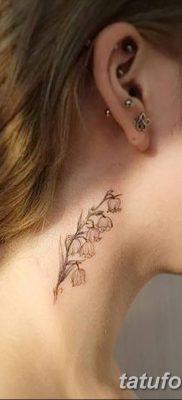 Фото рисунок тату цветок колокольчик от 10.08.2018 №044 – flower bell tatto – tatufoto.com