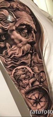 Фото тату Зевс от 08.08.2018 №005 – tattoo Zeus – tatufoto.com
