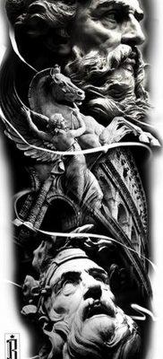 Фото тату Зевс от 08.08.2018 №015 – tattoo Zeus – tatufoto.com