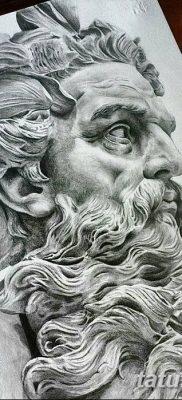 Фото тату Зевс от 08.08.2018 №018 – tattoo Zeus – tatufoto.com