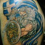 Фото тату Зевс от 08.08.2018 №160 - tattoo Zeus - tatufoto.com