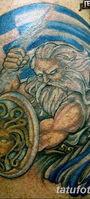 Фото тату Зевс от 08.08.2018 №160 – tattoo Zeus – tatufoto.com