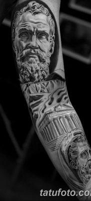 Фото тату Зевс от 08.08.2018 №174 – tattoo Zeus – tatufoto.com