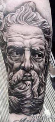 Фото тату Зевс от 08.08.2018 №177 – tattoo Zeus – tatufoto.com