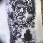 Фото тату Зевс от 08.08.2018 №181 - tattoo Zeus - tatufoto.com