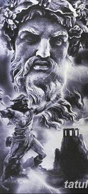 Фото тату Зевс от 08.08.2018 №181 – tattoo Zeus – tatufoto.com