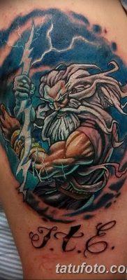 Фото тату Зевс от 08.08.2018 №187 – tattoo Zeus – tatufoto.com