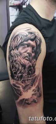 Фото тату Зевс от 08.08.2018 №191 – tattoo Zeus – tatufoto.com