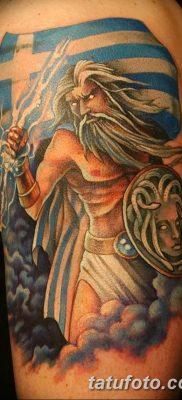 Фото тату Зевс от 08.08.2018 №193 – tattoo Zeus – tatufoto.com