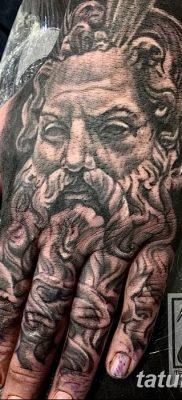 Фото тату Зевс от 08.08.2018 №202 – tattoo Zeus – tatufoto.com