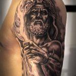 Фото тату Зевс от 08.08.2018 №205 - tattoo Zeus - tatufoto.com
