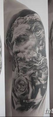 Фото тату Зевс от 08.08.2018 №206 – tattoo Zeus – tatufoto.com