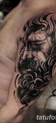 Фото тату Зевс от 08.08.2018 №215 – tattoo Zeus – tatufoto.com