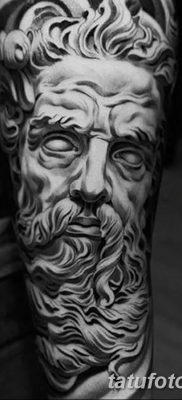 Фото тату Зевс от 08.08.2018 №219 – tattoo Zeus – tatufoto.com