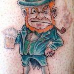 Фото тату Лепрекон от 04.08.2018 №007 - Leprechaun Tattoo - tatufoto.com