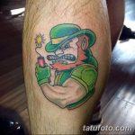 Фото тату Лепрекон от 04.08.2018 №017 - Leprechaun Tattoo - tatufoto.com