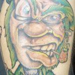 Фото тату Лепрекон от 04.08.2018 №032 - Leprechaun Tattoo - tatufoto.com