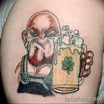 Фото тату Лепрекон от 04.08.2018 №036 - Leprechaun Tattoo - tatufoto.com