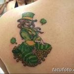 Фото тату Лепрекон от 04.08.2018 №067 - Leprechaun Tattoo - tatufoto.com