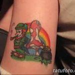 Фото тату Лепрекон от 04.08.2018 №103 - Leprechaun Tattoo - tatufoto.com