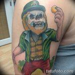 Фото тату Лепрекон от 04.08.2018 №138 - Leprechaun Tattoo - tatufoto.com