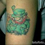 Фото тату Лепрекон от 04.08.2018 №178 - Leprechaun Tattoo - tatufoto.com