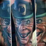 Фото тату Лепрекон от 04.08.2018 №211 - Leprechaun Tattoo - tatufoto.com