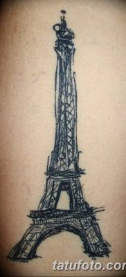 eiffel tower tattoo New Awesome Eiffel Tower Galen Bryce sketch